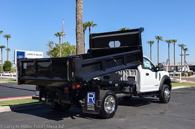 2021 Ford F-450 Regular Cab DRW 4x4, Rugby Dump Body #`` - photo 10