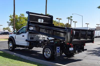 2021 Ford F-450 Regular Cab DRW 4x4, Rugby Dump Body #`` - photo 8