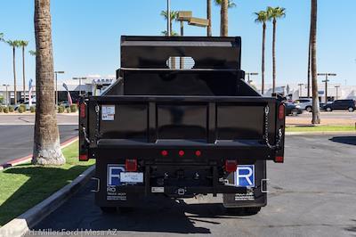2021 Ford F-450 Regular Cab DRW 4x4, Rugby Dump Body #`` - photo 9