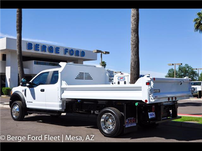 2017 F-550 Super Cab DRW, Crysteel Dump Body #17P162 - photo 2