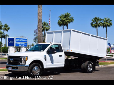 2017 F-350 Regular Cab DRW 4x2,  Knapheide Value-Master X Landscape Dump #17P173 - photo 1