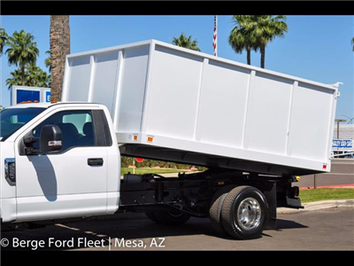 2017 F-350 Regular Cab DRW 4x2,  Knapheide Value-Master X Landscape Dump #17P173 - photo 4