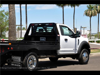 2017 F-450 Regular Cab DRW 4x4, Hillsboro GII Steel Platform Body #17P247 - photo 14