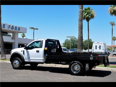 2017 F-450 Regular Cab DRW 4x4, Hillsboro GII Steel Platform Body #17P247 - photo 4