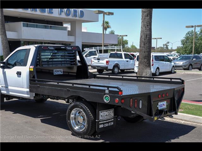 2017 F-450 Regular Cab DRW 4x4, Hillsboro GII Steel Platform Body #17P247 - photo 2