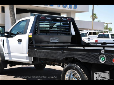 2017 F-450 Regular Cab DRW 4x4, Hillsboro GII Steel Platform Body #17P247 - photo 5