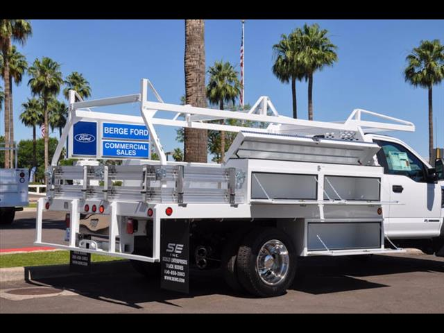 2017 F-450 Regular Cab DRW 4x4, Scelzi Contractor Body #17P339 - photo 11