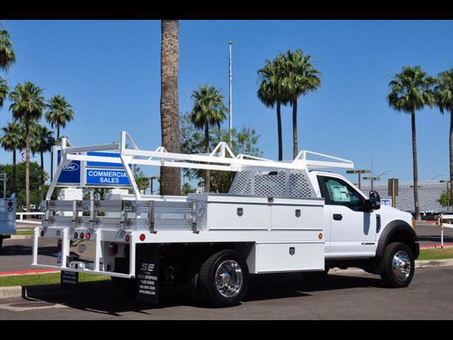2017 F-450 Regular Cab DRW 4x4, Scelzi Contractor Body #17P339 - photo 9