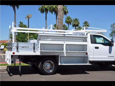 2017 F-450 Regular Cab DRW 4x4, Scelzi Contractor Body #17P339 - photo 10