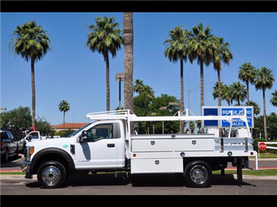 2017 F-450 Regular Cab DRW 4x4, Scelzi Contractor Body #17P339 - photo 3