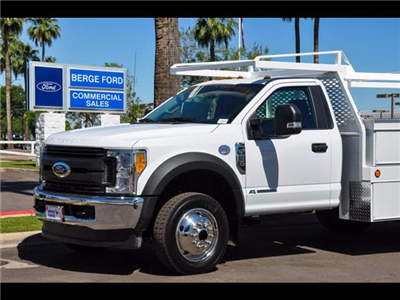 2017 F-450 Regular Cab DRW 4x4, Scelzi Contractor Body #17P339 - photo 5