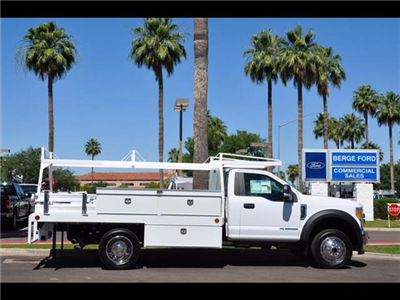 2017 F-450 Regular Cab DRW 4x4, Scelzi Contractor Body #17P339 - photo 8
