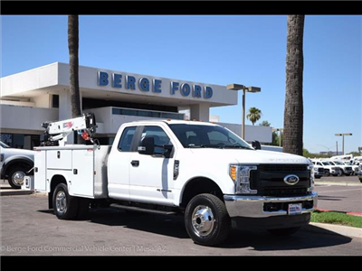 2017 F-350 Super Cab DRW 4x4, Knapheide Standard Service Body Wrecker Body #17P419 - photo 14