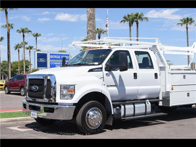 2017 F-650 Crew Cab DRW, Scelzi Contractor Body #17P437 - photo 9