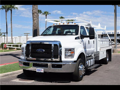 2017 F-650 Crew Cab DRW, Scelzi Contractor Body #17P437 - photo 10