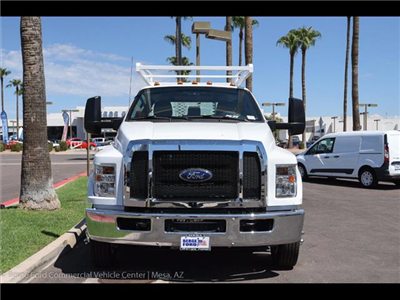 2017 F-650 Crew Cab DRW, Scelzi Contractor Body #17P437 - photo 11