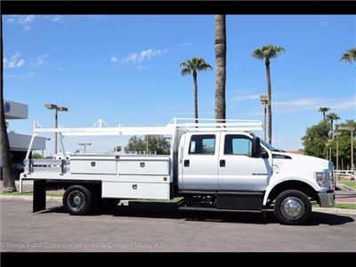 2017 F-650 Crew Cab DRW, Scelzi Contractor Body #17P437 - photo 16