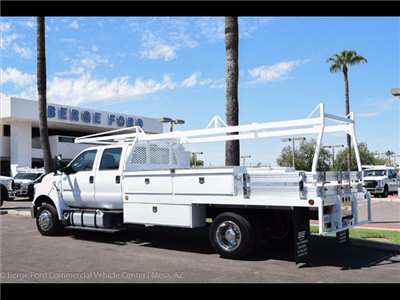 2017 F-650 Crew Cab DRW, Scelzi Contractor Body #17P437 - photo 2