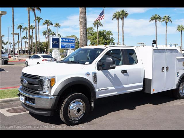 2017 F-550 Super Cab DRW 4x4, Reading Service Body #17P471 - photo 8