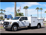 2017 F-550 Super Cab DRW 4x4, Reading Service Body #17P471 - photo 1