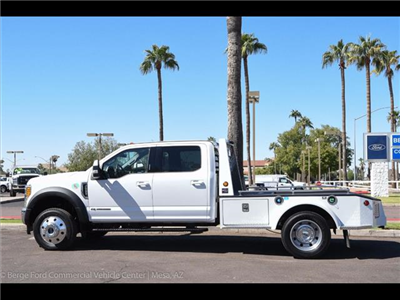 2017 F-550 Crew Cab DRW 4x4, Monroe VH Towing Body Platform Body #17P473 - photo 4
