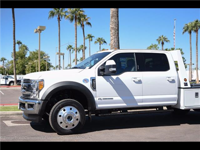 2017 F-550 Crew Cab DRW 4x4, Monroe VH Towing Body Platform Body #17P473 - photo 7