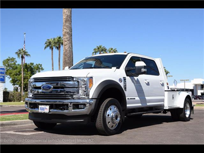 2017 F-550 Crew Cab DRW 4x4, Monroe VH Towing Body Platform Body #17P473 - photo 8