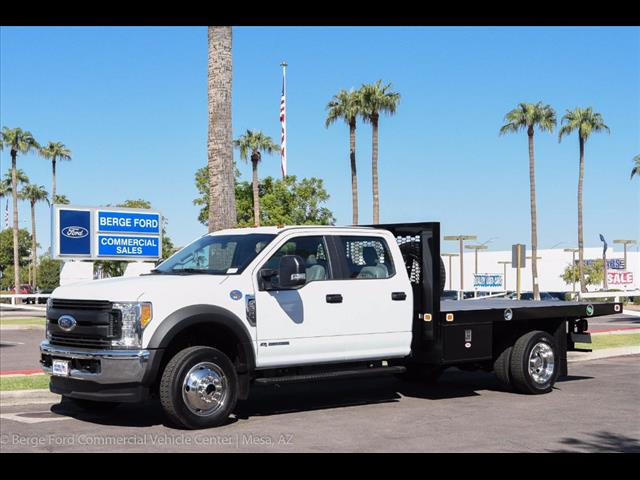2017 F-550 Crew Cab DRW 4x4, Knapheide Value-Master X Platform Body #17P494 - photo 1