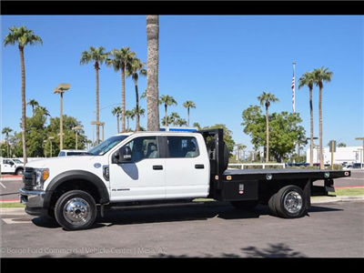 2017 F-550 Crew Cab DRW 4x4, Knapheide Value-Master X Platform Body #17P494 - photo 3