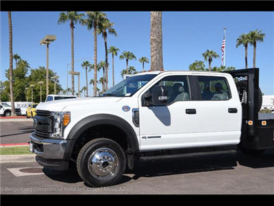 2017 F-550 Crew Cab DRW 4x4, Knapheide Value-Master X Platform Body #17P494 - photo 6