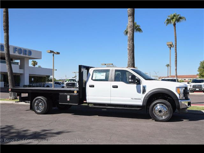 2017 F-550 Crew Cab DRW 4x4, Knapheide Value-Master X Platform Body #17P494 - photo 13
