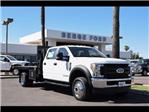 2017 F-550 Crew Cab DRW 4x4, Knapheide Value-Master X Platform Body #17P494 - photo 12