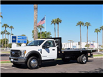 2017 F-450 Regular Cab DRW, Knapheide Value-Master X Platform Body #17P528 - photo 1