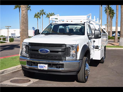 2017 F-450 Regular Cab DRW, Royal Contractor Bodies Contractor Body #17P529 - photo 9