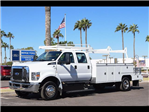 2017 F-650 Crew Cab DRW 4x2,  Scelzi Combo Body #17P573 - photo 1