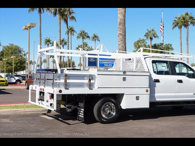 2017 F-350 Crew Cab DRW 4x4, Scelzi Contractor Flatbed Contractor Body #17P618 - photo 15