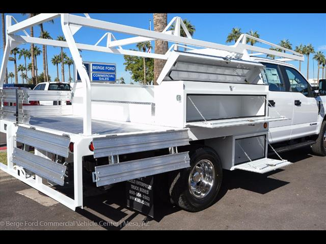 2017 F-350 Crew Cab DRW 4x4, Scelzi Contractor Flatbed Contractor Body #17P618 - photo 16