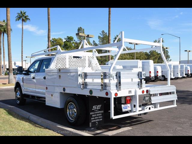 2017 F-350 Crew Cab DRW 4x4, Scelzi Contractor Flatbed Contractor Body #17P618 - photo 20