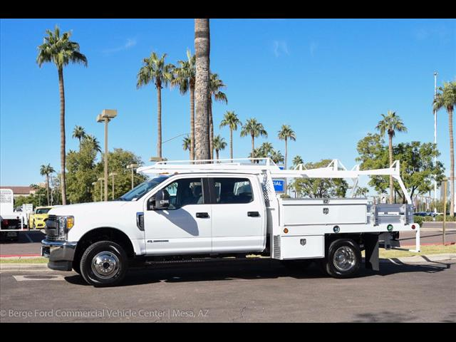 2017 F-350 Crew Cab DRW 4x4, Scelzi Contractor Flatbed Contractor Body #17P618 - photo 3