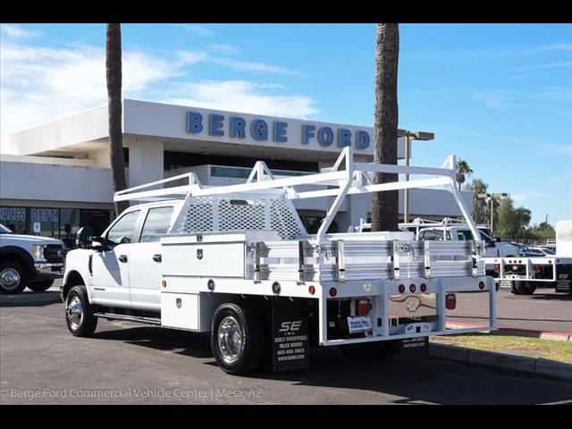 2017 F-350 Crew Cab DRW 4x4, Scelzi Contractor Flatbed Contractor Body #17P618 - photo 2
