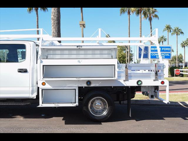 2017 F-350 Crew Cab DRW 4x4, Scelzi Contractor Flatbed Contractor Body #17P618 - photo 6