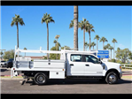 2017 F-350 Crew Cab DRW 4x4, Scelzi Contractor Flatbed Contractor Body #17P618 - photo 14