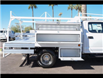 2017 F-350 Crew Cab DRW 4x4, Scelzi Contractor Flatbed Contractor Body #17P618 - photo 17