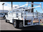 2017 F-350 Crew Cab DRW 4x4, Scelzi Contractor Flatbed Contractor Body #17P618 - photo 5