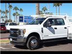 2017 F-350 Crew Cab DRW 4x4, Scelzi Contractor Flatbed Contractor Body #17P618 - photo 8