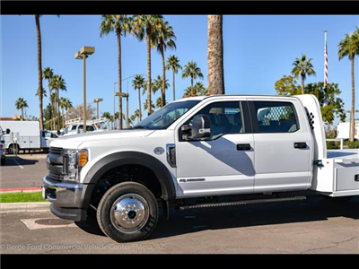 2017 F-550 Crew Cab DRW 4x4, Platform Body #17P711 - photo 6