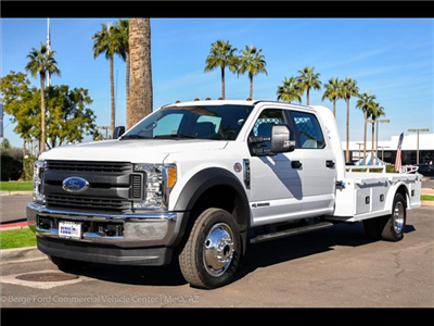 2017 F-550 Crew Cab DRW 4x4, Platform Body #17P711 - photo 7