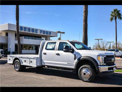 2017 F-550 Crew Cab DRW 4x4, Platform Body #17P711 - photo 9