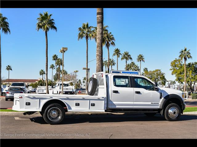 2017 F-550 Crew Cab DRW 4x4, Platform Body #17P711 - photo 11
