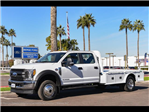 2017 F-550 Crew Cab DRW 4x4, Platform Body #17P711 - photo 1